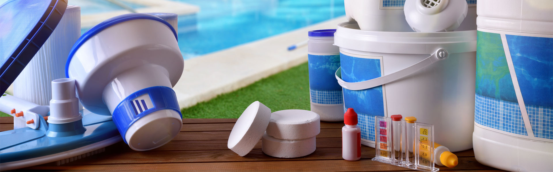 Swimming Pool Cleaning Supplies and Equipment